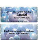 Blue Balloons Candy Wrappers Sample