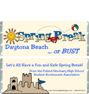Spring Break Candy Wrappers Sample