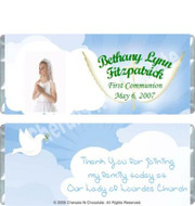 First Communion Candy Wrappers Sample