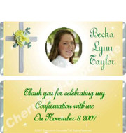 Confirmation Candy Wrappers Sample