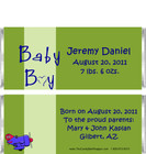 ABC Boy Candy Wrappers Sample
