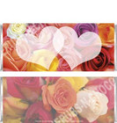 Bridal Flowers Candy Wrappers