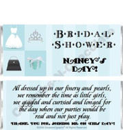 Showers Candy Wrappers Sample