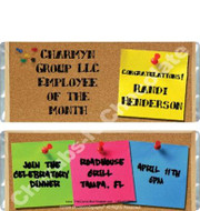 Bulletin Board Candy Wrappers Sample