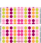 Colorful Polka Dot Candy Bar Wrappers