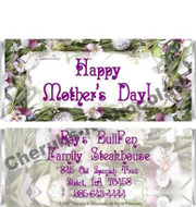 Spring Floral Candy Wrappers Sample