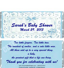 Cute Baby Boy Candy Bar Wrappers Sample