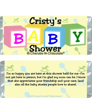Baby Shower Party Favor Sample