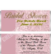 Bridal Shower 1 Candy Wrapper Sample