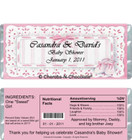 Cute Baby Girl Candy Wrappers Sample