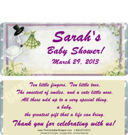 Stork Delivery Baby Shower Candy Wrappers