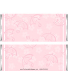 Banner Pink Candy Wrappers