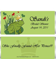 Frog Prince Candy Bar Wrappers Sample