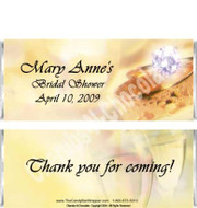 Engagement Ring Candy Wrappers Sample