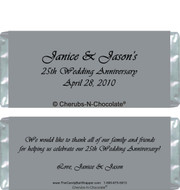 Silver Elegance Candy Wrappers Sample