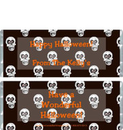 Halloween Skeleton Candy Wrappers