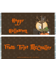 Fright Night Candy Wrappers