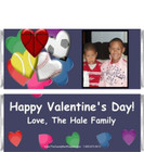 Valentine Sports Candy Bar Wrappers Sample