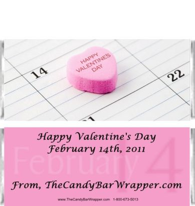 Valentines Day Candy Wrappers Sample