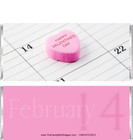 Valentines Day Candy Wrappers