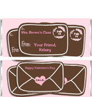 Valentine Letter Candy Bar Wrappers Sample