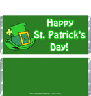 Happy St. Patrick's Day Candy Wrappers