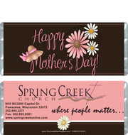 Happy Mother's Day Candy Bar Wrappers Sample
