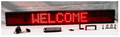 "1500UR2 - 49"" x 6"" ULTRA RED Programmable Message Boards"