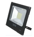 FL50W-S3-6000K: 50W Industrial LED Flood Light In Black Aluminum Case