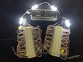 SLW902TB (2X) KIT: 100 LED Modules WHITE (6500K) - 0.72W/12VDC & 1 LW100: 100W/12VDC LED Power Supply