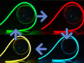 RGB Flex Neon - IP68 Color-Changing Neon LED Flex SLW LED® F15 Flat Top