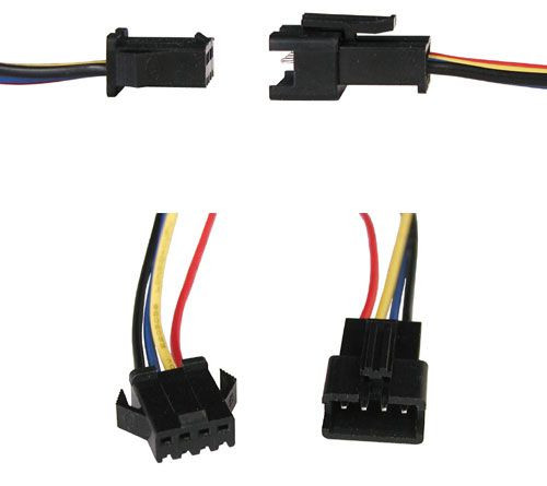 SLW Quick Connect Wire Sets - 4 Conductor on
