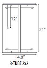 Troffer LED Retrofit Kit-2x2-22W40K (RF22UQT230-40K)