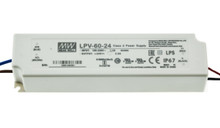 LPV-60-24: Meanwell 60W/24VDC LED power driver