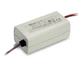 APV-12-24: 12W/24VDC/100-240VAC LED Power Driver