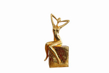 Modrest Figure Modern Gold Scuplture