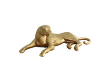 Modrest Puma Modern Gold Sculpture