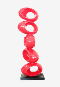 Modrest Stack Large Red Sculpture