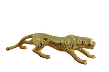 Modrest Jaguar Gold Mirror Sculpture
