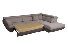 Artemis Modern Fabric Sectional w/bed