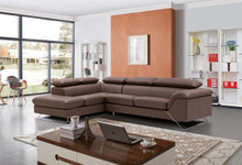 Caracas Modern  Sectional Full Leather