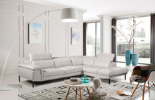 1511 Modern White Sectional Off White