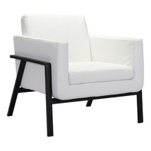 Homestead Lounge Chair White Pu