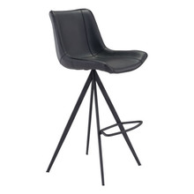 Aki Bar Chair Black - Set of 4