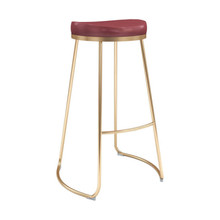 Bree Barstool Burgundy - Set of 4
