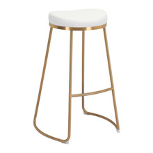 Bree Barstool White - Set of 4