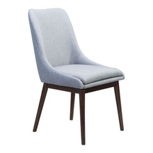 Ashmore Dining Chair Charcoal Gray