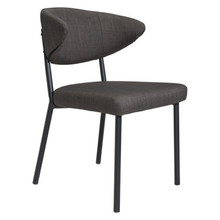 Pontus Dining Chair Charcoal Gray