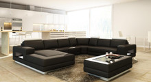Divani Casa 5106 Modern Bonded Leather Sectional Sofa