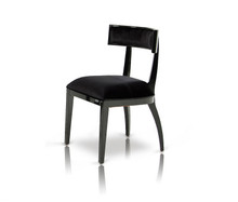 Alek - Modern Black Dining Chair